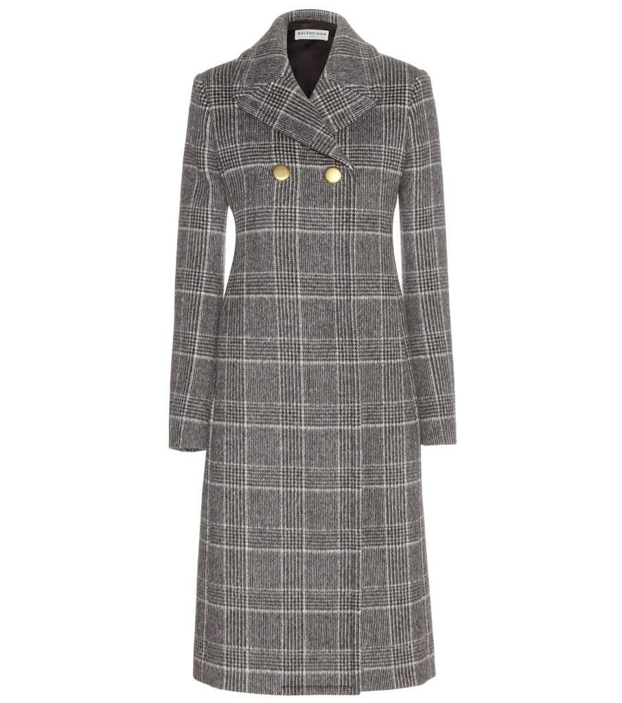 P00147122-Checked-wool-blend-coat-STANDARD