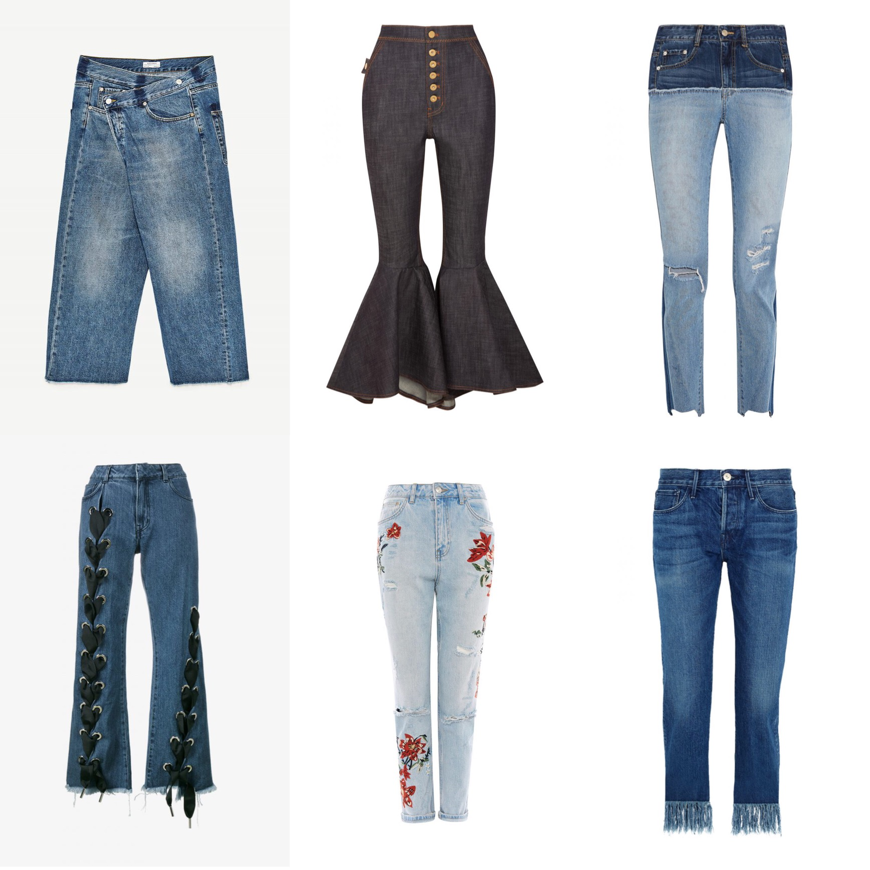 DENIM MUST HAVES FOR SPRING!