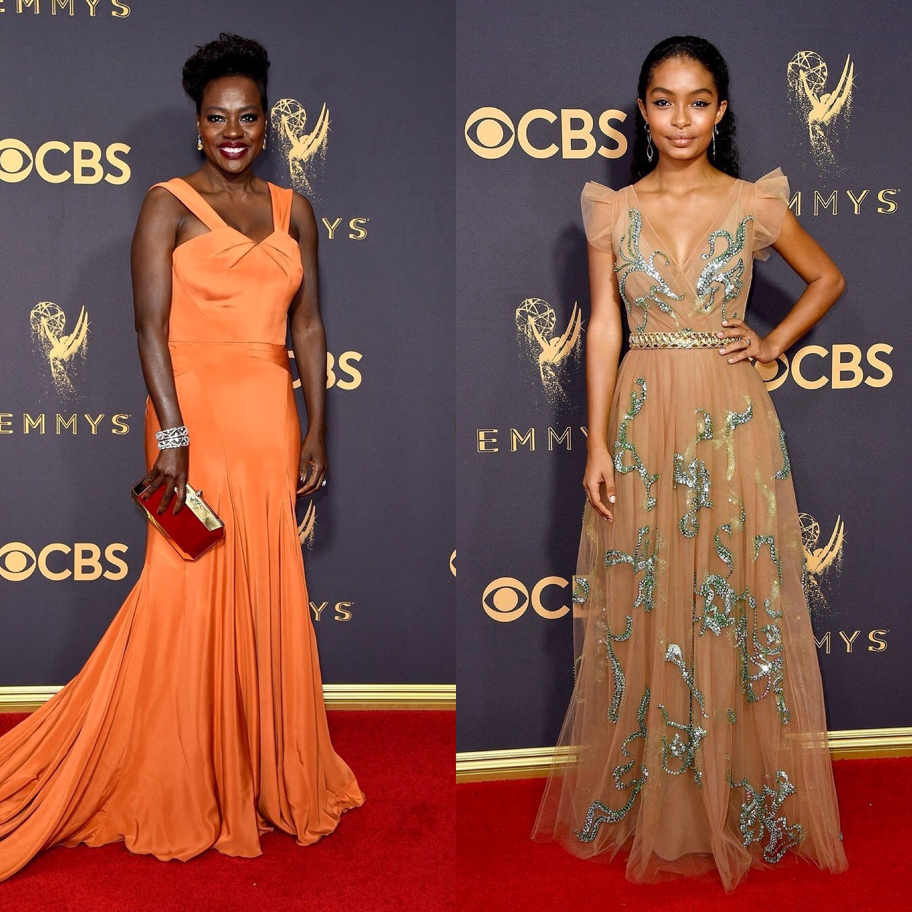 ALL THE LOOKS FROM THE 2017 EMMY AWARDS
