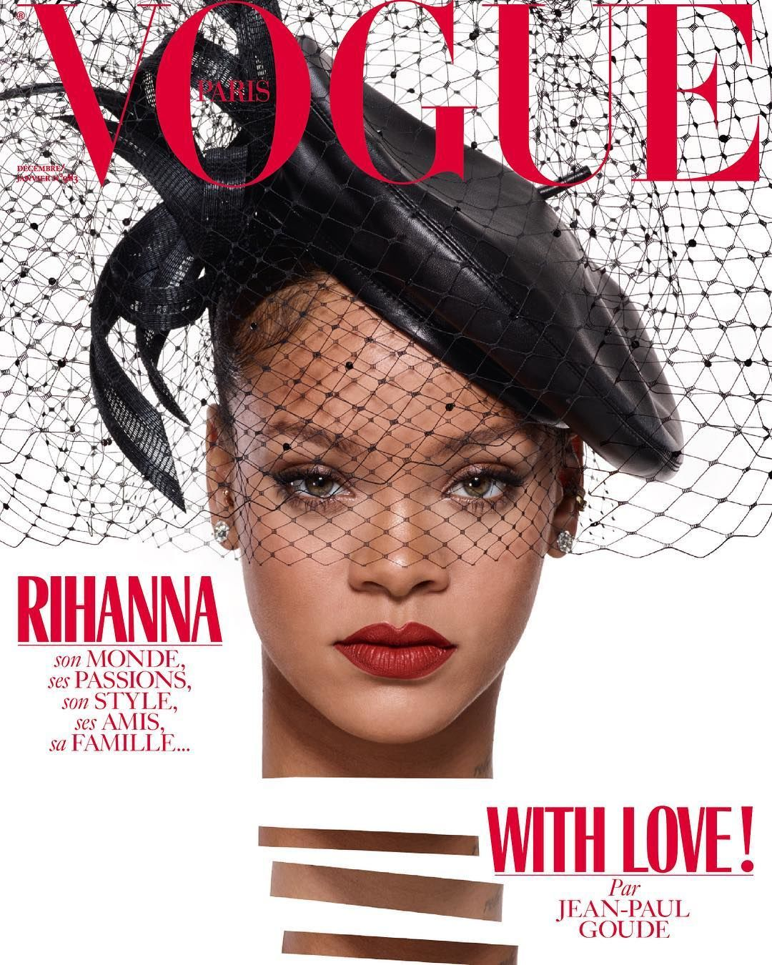 RIHANNA FOR VOGUE PARIS!