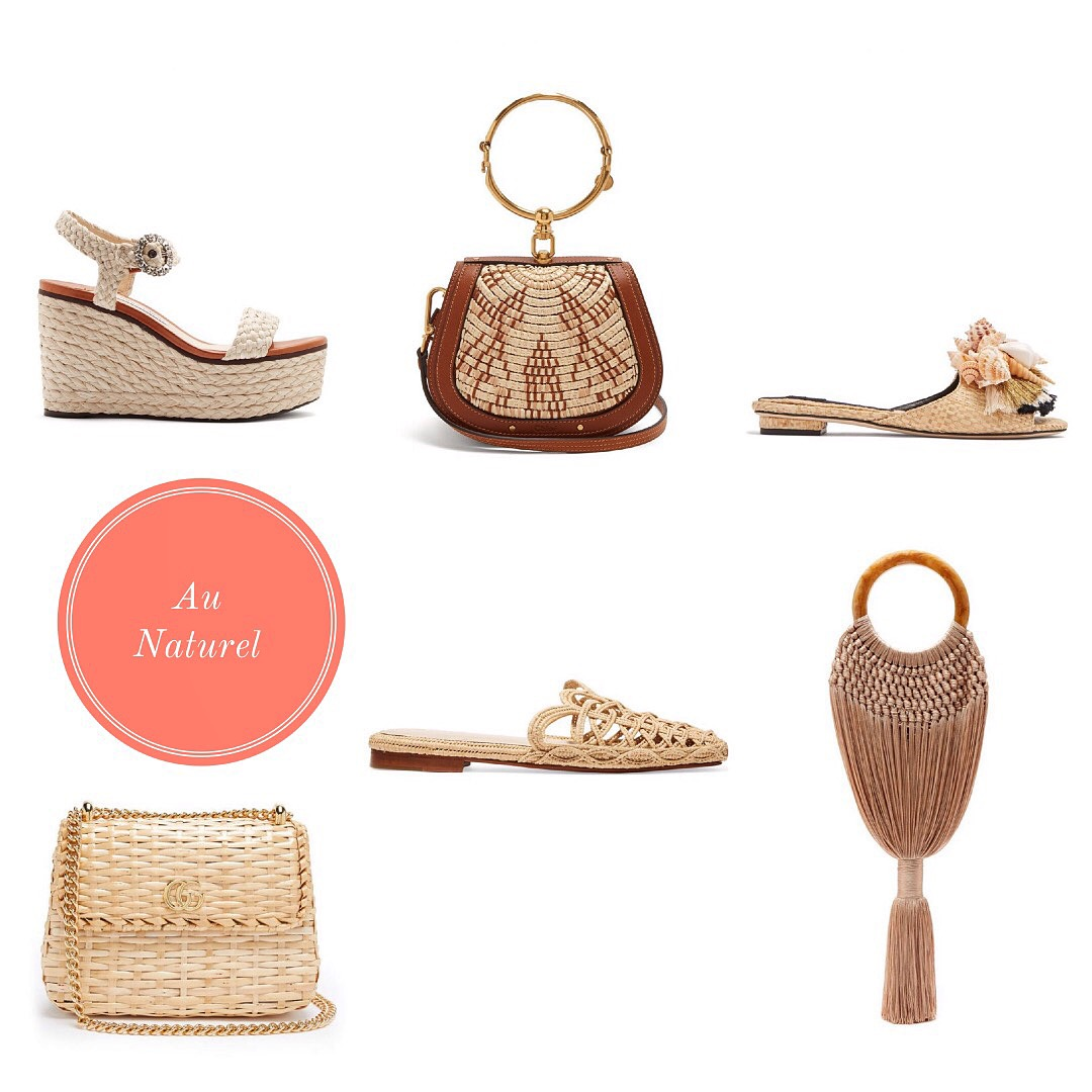AU NATUREL: WOVEN ACCESSORIES FOR VACATION SEASON