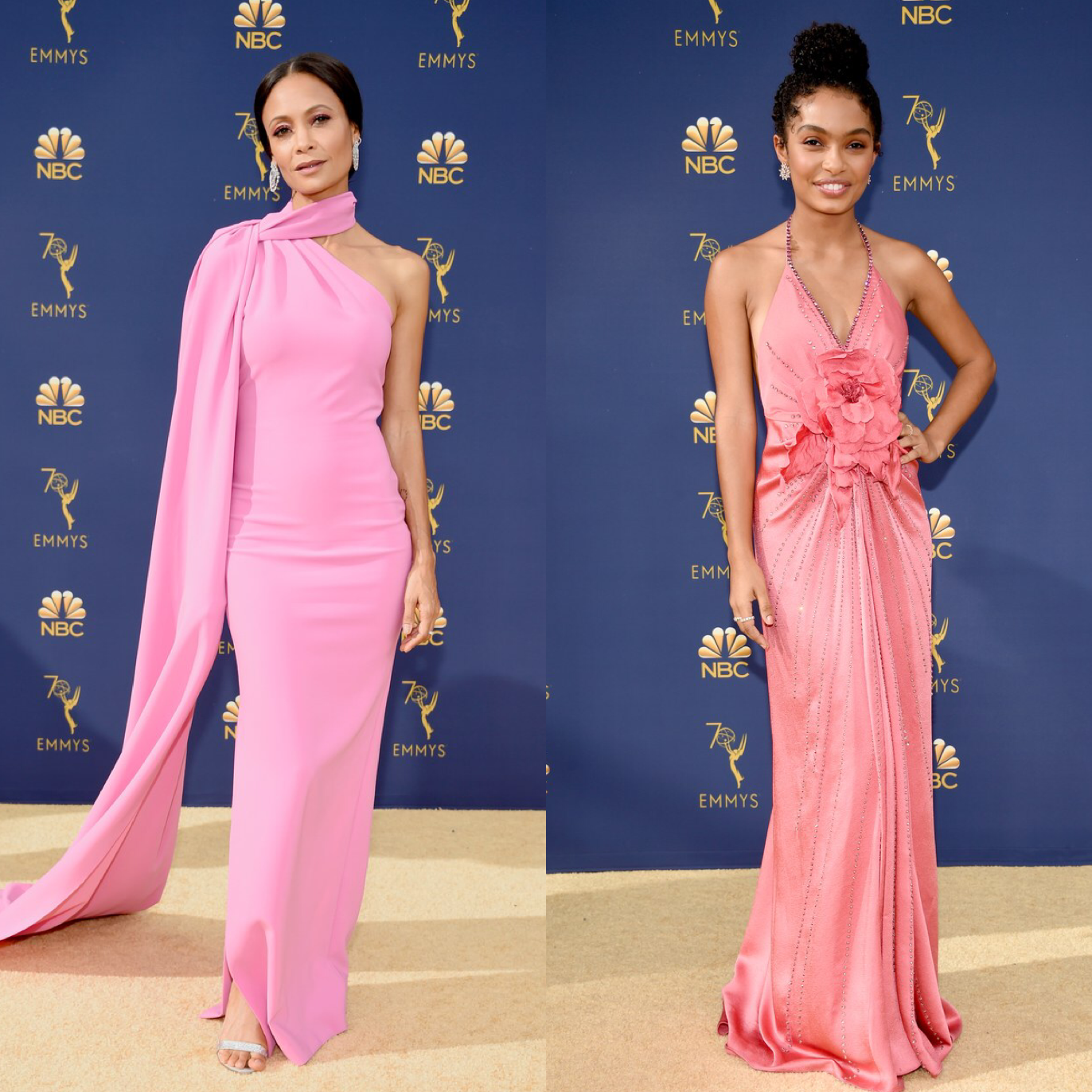 THE BEST LOOKS FROM THE 2018 EMMY AWARDS