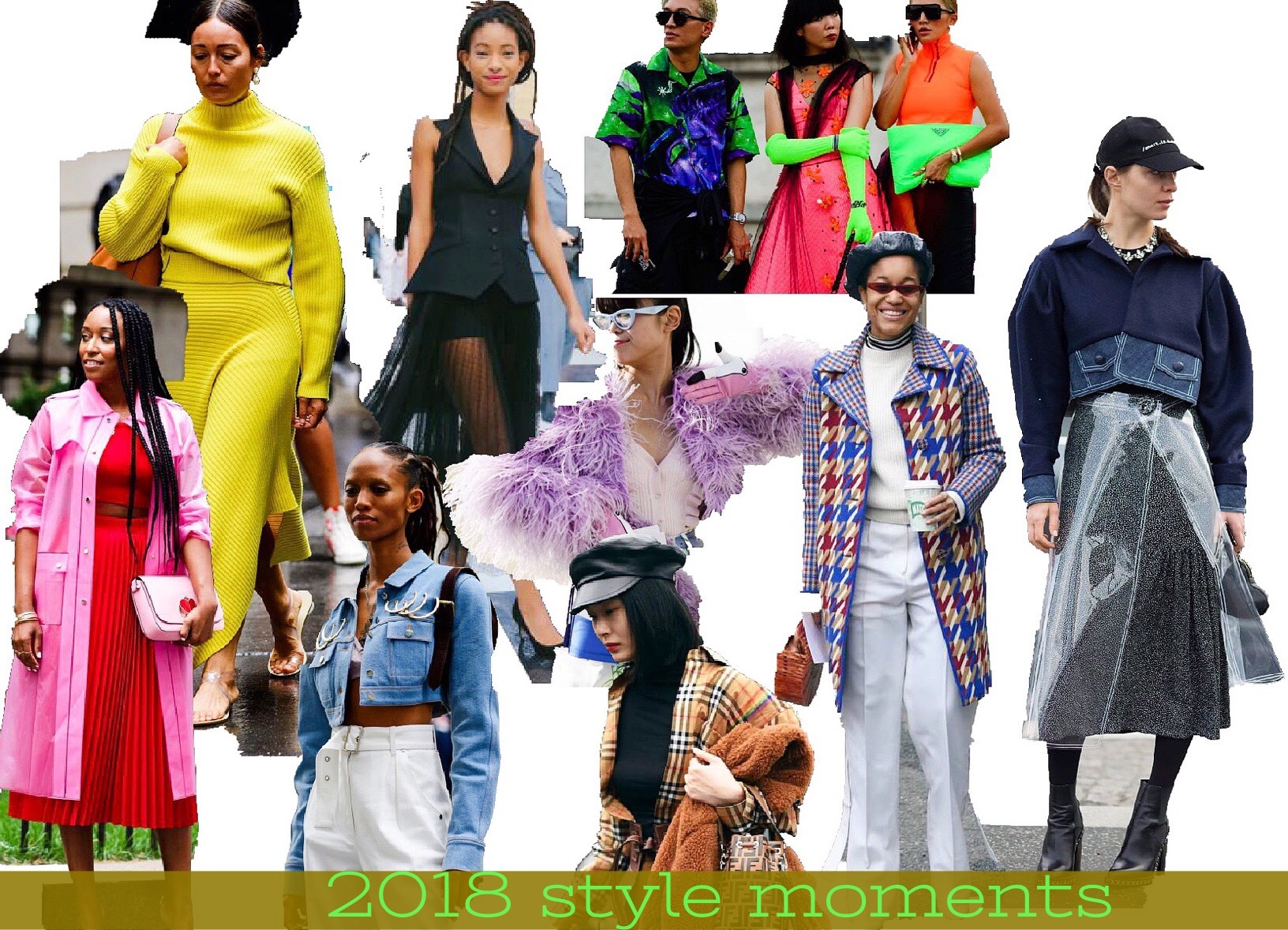 OUTSTANDING STYLE MOMENTS OF 2018!