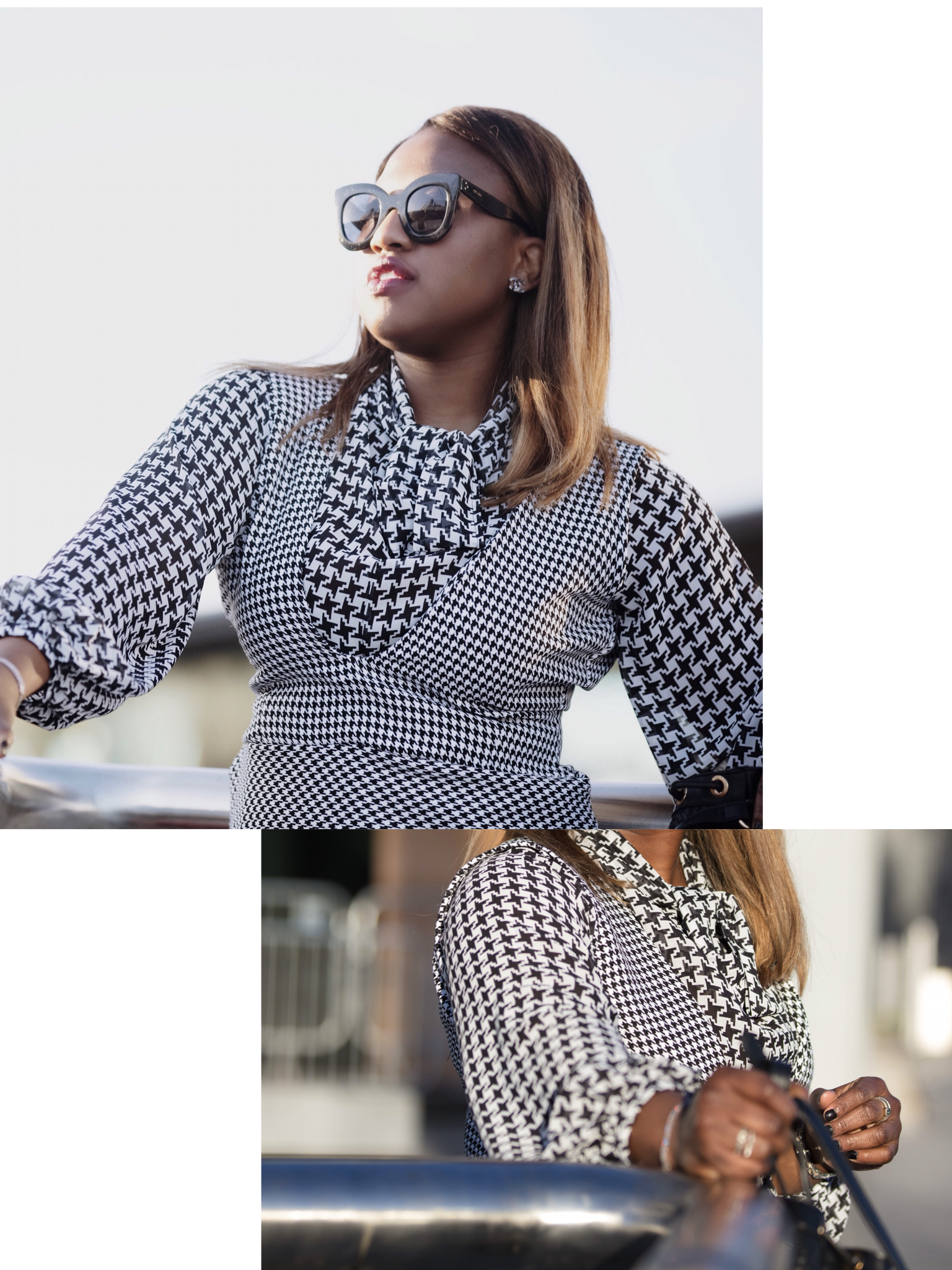 HOW TO REWORK HOUNDSTOOTH FOR WINTER '18