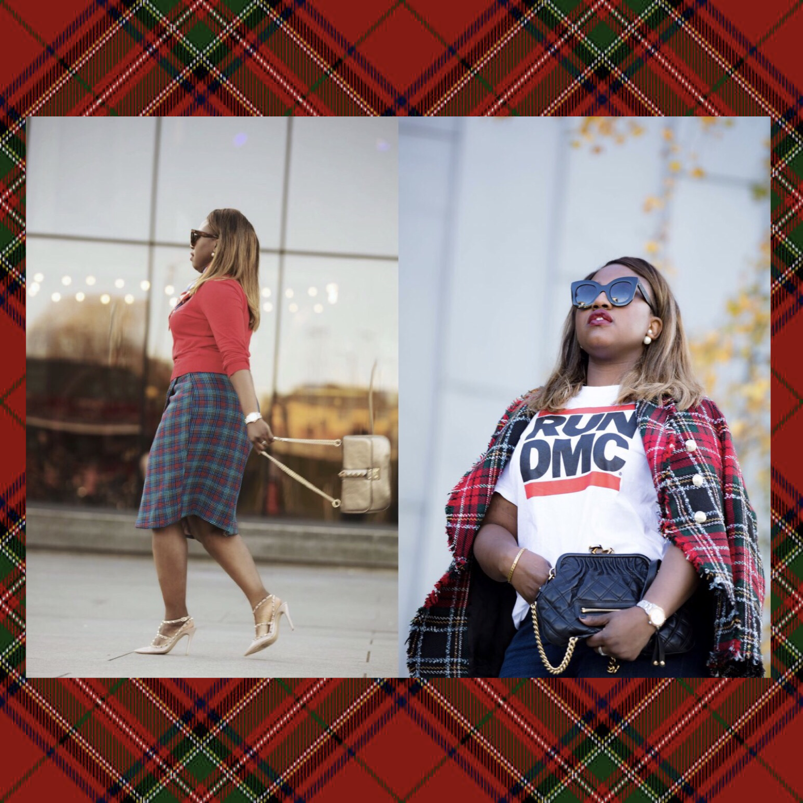 TWO WAYS TO WEAR TARTAN!