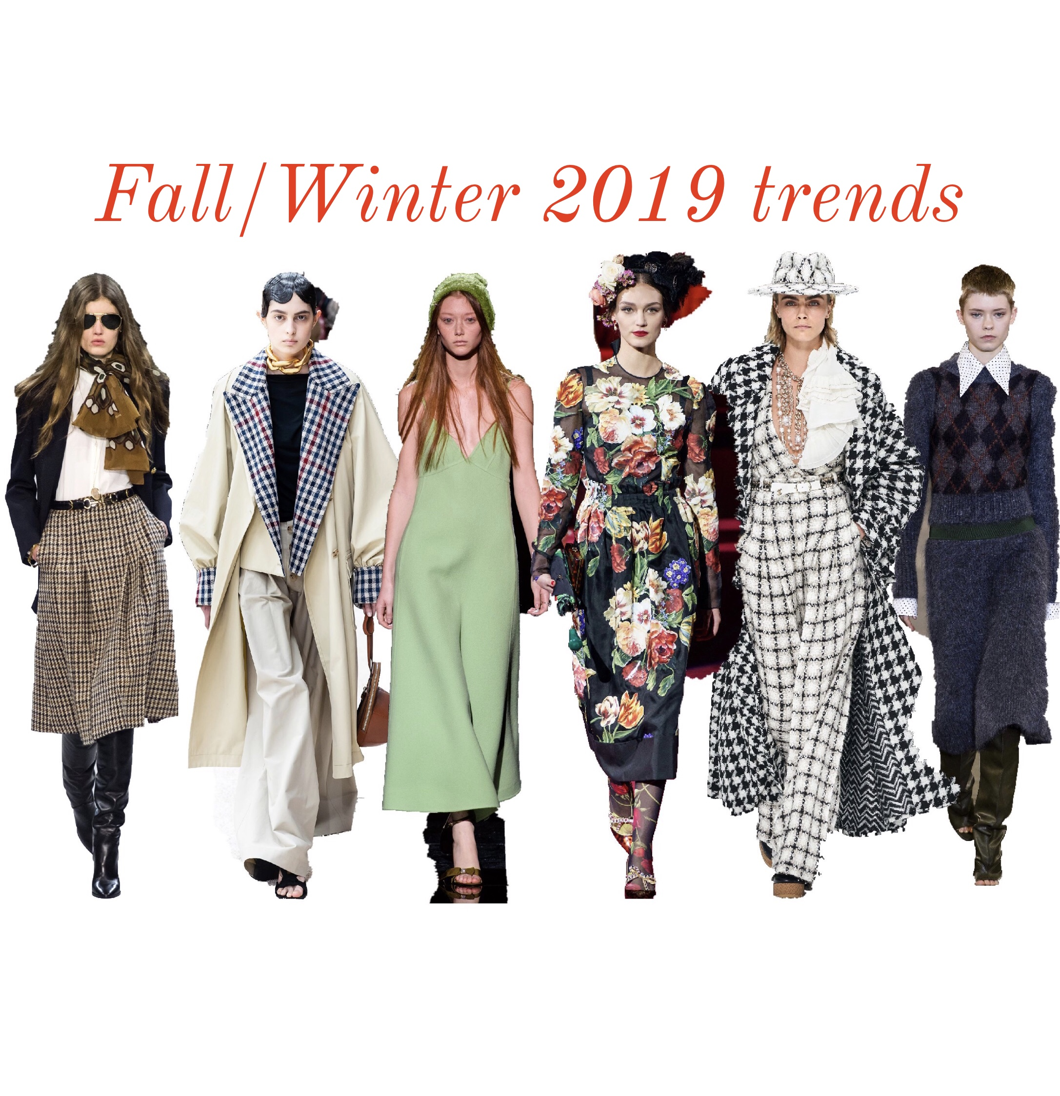 6 KEY TRENDS TO TRY FOR FALL/WINTER 2019